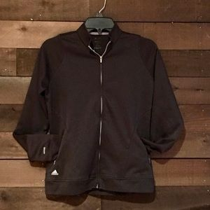 Womens Adidas Medium lightweight Athletic jacket.